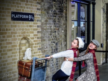 Platform 9 3/4, Kings Cross, London