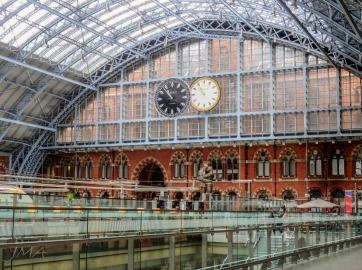 St. Pancras International railway station, London