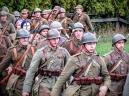 Rekonstrukcja bitwy nad Bzurą, Łomianki. A World War II battle reconstruction in Poland.