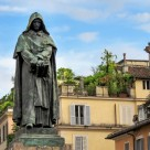 Giordano Bruno staue at Campo di Fiori, Rome