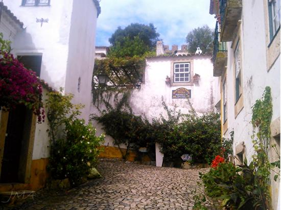 Obidos, a well preserved medieval city in Portugal