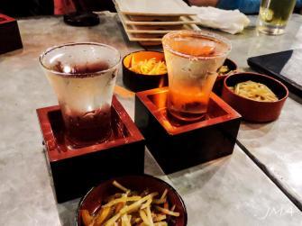 Sake served cold
