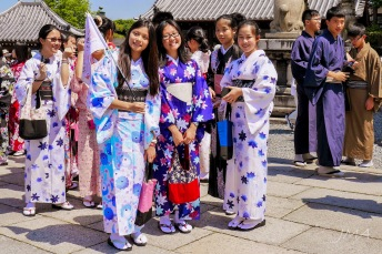 Learning Japan and the Japanese culture.