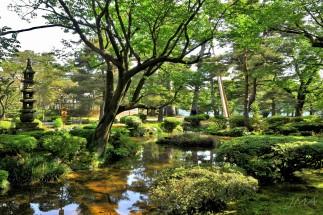 Kenrokuen, Kanazawa, Japan