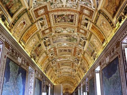 Musei Vaticani. Vatican Museums.