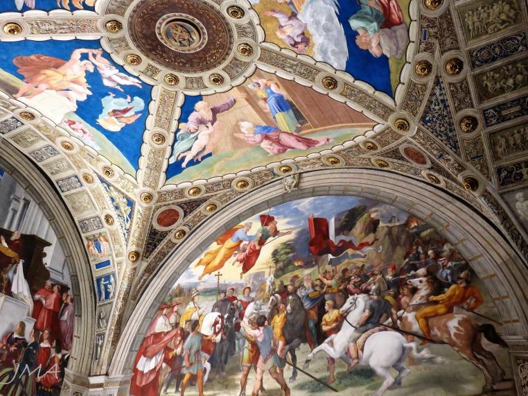 Musei Vaticani. Vatican Museums. Raphael's Rooms.