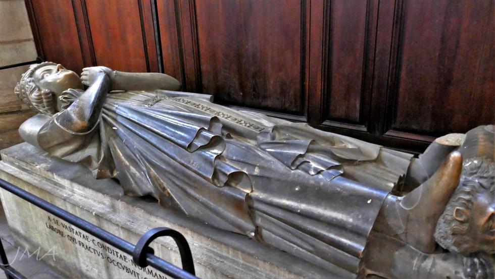 Tomb of Rollo, Rouen, France