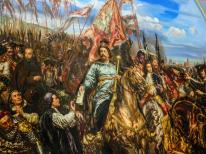 Battle of Vienna, a painting on display in Vatican Museums