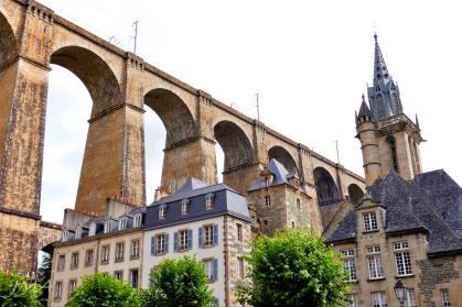 Morlaix, Brittany, France