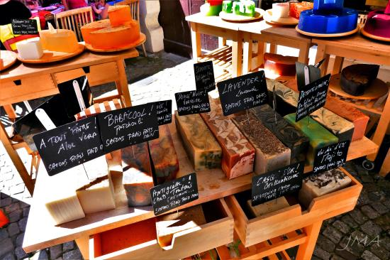 A handmade soap « Just Moving Around