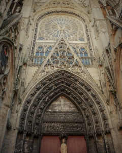 Rouen cathedral, France