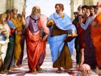 Musei Vaticani. Vatican Museums. Raphael's Rooms. The School of Athens.