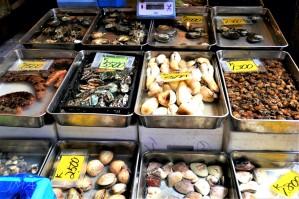 Tsukiji fish market, Tokyo, Japan