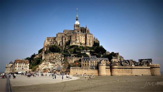 Mount St. Michel, France