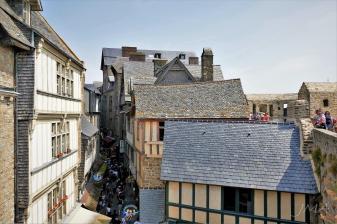 Mount St. Michel, France