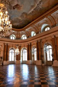 Warsaw royal castle. The ballroom.