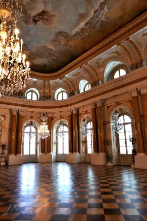 Warsaw royal castle. The ballroom.