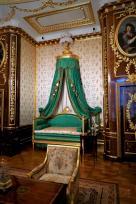 Warsaw royal castle. The king's bedroom.