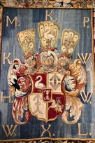 Warsaw royal castle. A tapestry from the royal collection.
