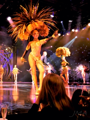 Paris, Champs Elysees, a burlesque show in Lido.