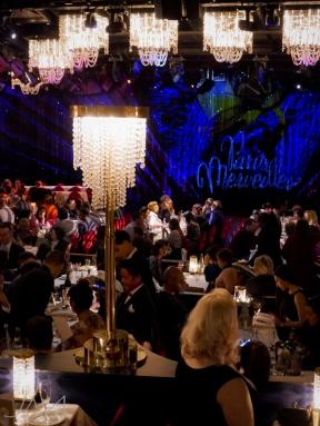 Paris, Champs Elysees, burlesque show in Lido, the audience