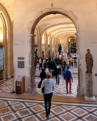Inside the renaissance section