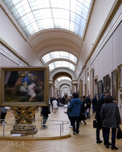 The Louvre. Paris.