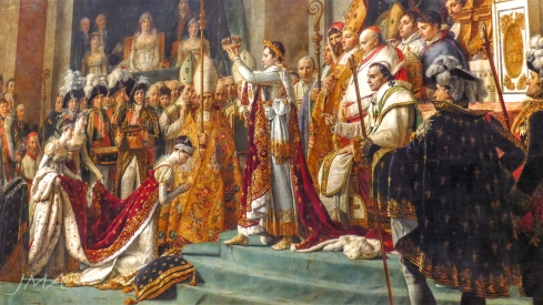 The Coronation of Napoleon by Jacques-Louis David