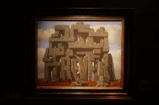 Work by the Belgian surrealist René Magritte