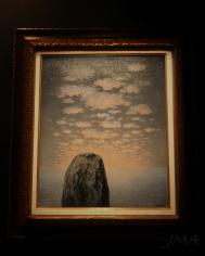 Work by the Belgian surrealist René Magritte.