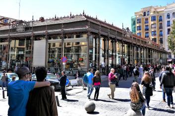 Mercado de San Miguel in Madrid, Spain
