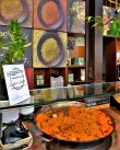 Delicious appetizers / tapas at Mercado de San Miguel in Madrid, Spain