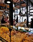 Delicious appetizers / tapas at Mercado de San Miguel in Madrid, Spain.