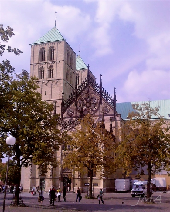 The Muenster cathedral, Germany.
