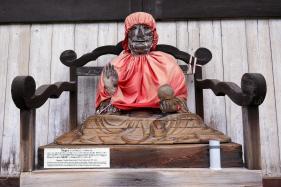 Bizuru. The Tōdai-ji temple complex in Nara, Japan.