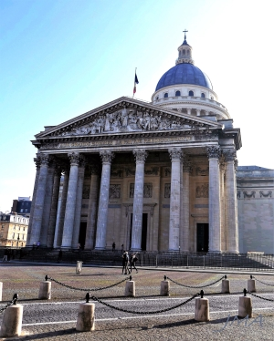 The Pantheon, Paris, France.