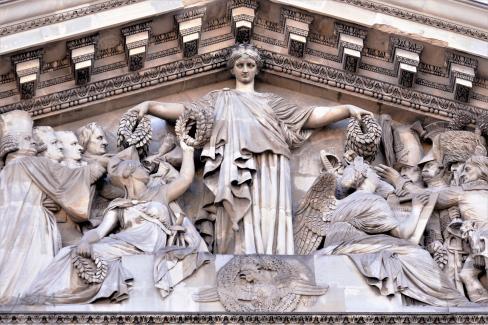 The Pantheon, Paris, France.