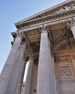 Traveling France. The Pantheon, Paris, France.