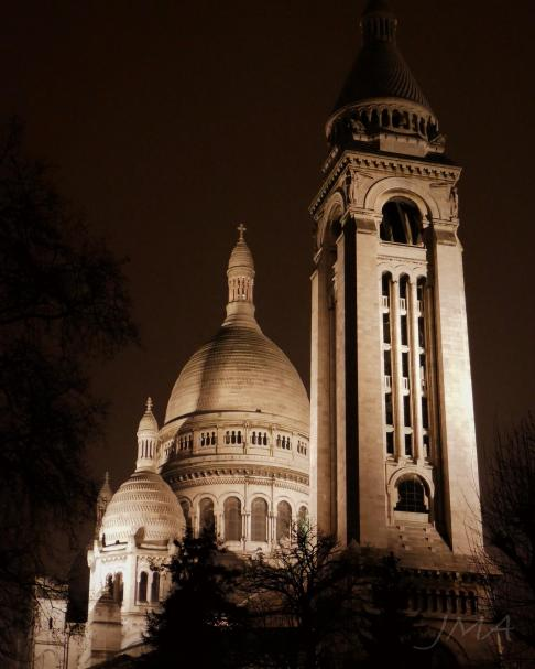 Traveling France. Sacre Coeur. Photo impressions.