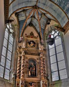Traveling France. Saint Thegonnec church.