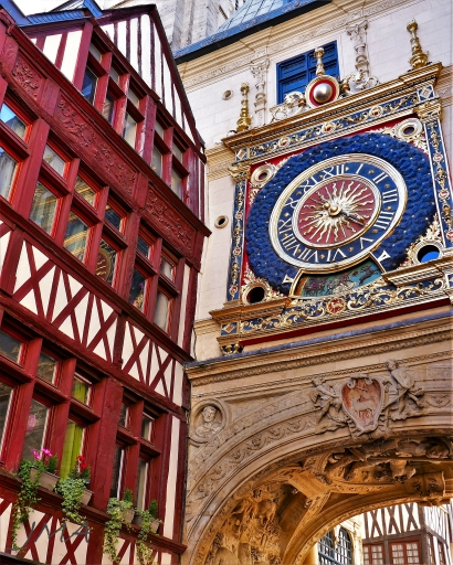 France, Normandy & Brittany, half timbered houses #sightseeing #traveling