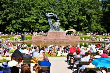 A Chopin afternoon in Warsaw, Poland