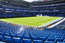 At Santiago Bernabeu - the Real Madrid fan zone