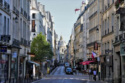 Paris, the Latin quarter