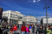Puerta del Sol, a place considered the main city square