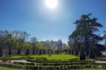 Buen Retiro Park in central Madrid