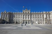 The entrance to the Royal Palace from Plaza de la Armería. Unfortunately it is forbidden to make photos inside.