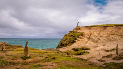 Slope Point, New Zealand