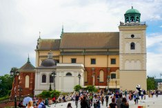 Historical old town, Warsaw, Poland