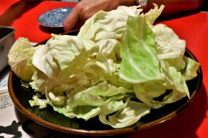Cabbage for the start, Japan